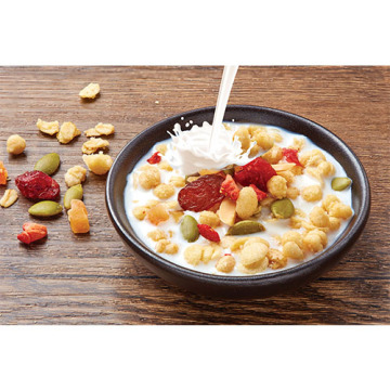 Nutrituous Daily Fruit Oatmeal