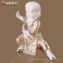 Chinese resin material shaolin monk figurines for decoration