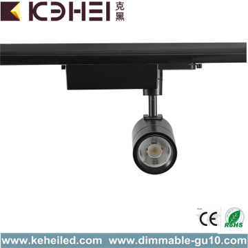 Black 7W LED Track Lights Warm White 90Ra