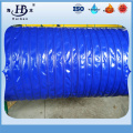 Thermally insulated pvc duct hose for mechanical ventilation