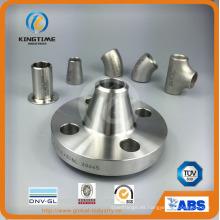 Brida forjada del reborde del cuello de la soldadura del acero inoxidable (KT0367)