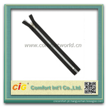 Zipper de Nylon de cadeia longa personalizada de alta qualidade