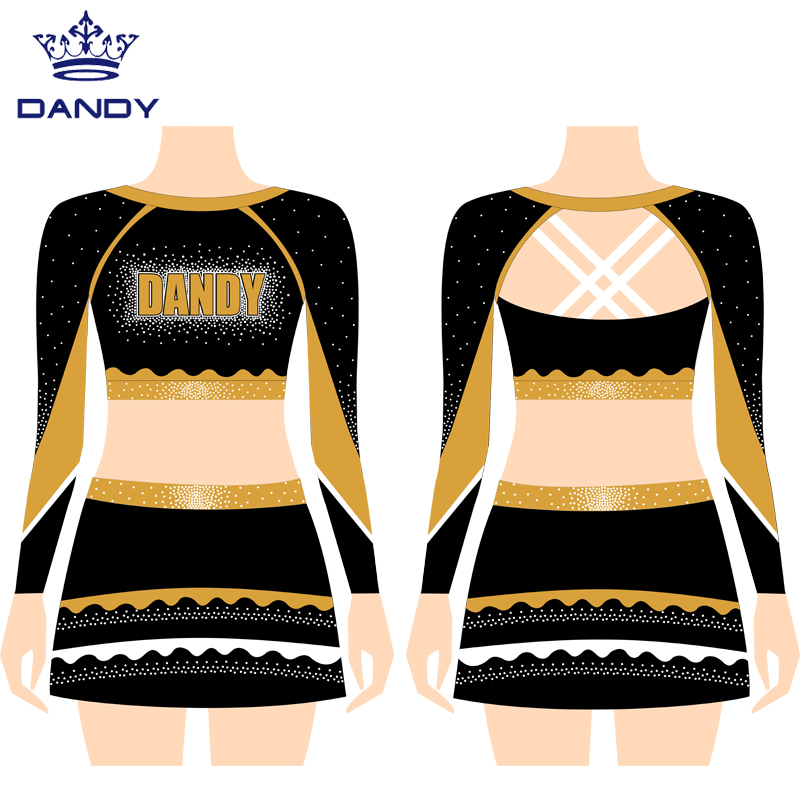 custom design cheer uniforms