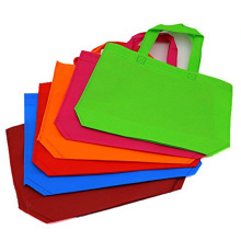 Different colors printed logo laminated recyclable non woven tote shopping bag eco friendly nonwoven carry tote bag