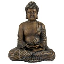 Поставки Китай напольные большие металлические ремесла бронзовый Размер жизни Будды для продажи