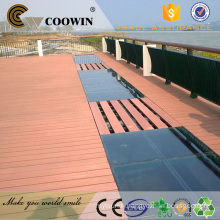 Hollow wood plastic composite wpc decking boards
