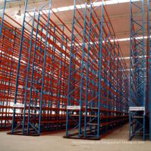 Almacenamiento de metal para sistemas Rack VNA Rack de productos de acero