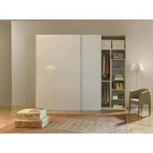 Wholesale Modern MDF Glossy PVC Wardrobe Closet