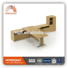 (MFC)DT-06 L-shape T-shape computer table MDF office table