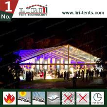 Frei stehendes Zelt im Freien mit freier PVC-Dach-Abdeckung für Partei