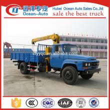 Grúa de Dongfeng 4ton XCMG con el carro para la venta