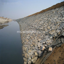 Kotak Gabion Galvanized Stone Cage-Hot Dipped