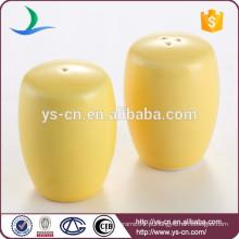 Hot Sale Custom cerâmica sal e pimenta Shakers