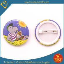 Seaside Relaxation Tin Button Abzeichen für Tourist als Geschenk