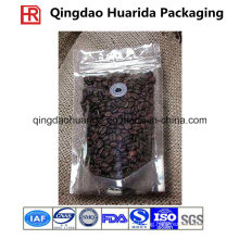 Stand up Coffee Pouch Tea Packing with Zipper and Valve