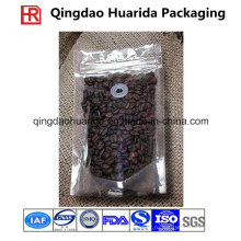 Встать кофе мешок упаковки чая с застежкой-молнией и клапаном