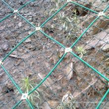 Verteidigung Hang Zaun Mesh / Schutz Wire Mesh Netting für Slope