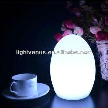 Decorativo multicolor cambiando lectura LED de la lámpara de mesa