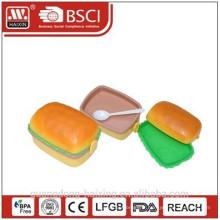 Hamburger forme boîte à Lunch