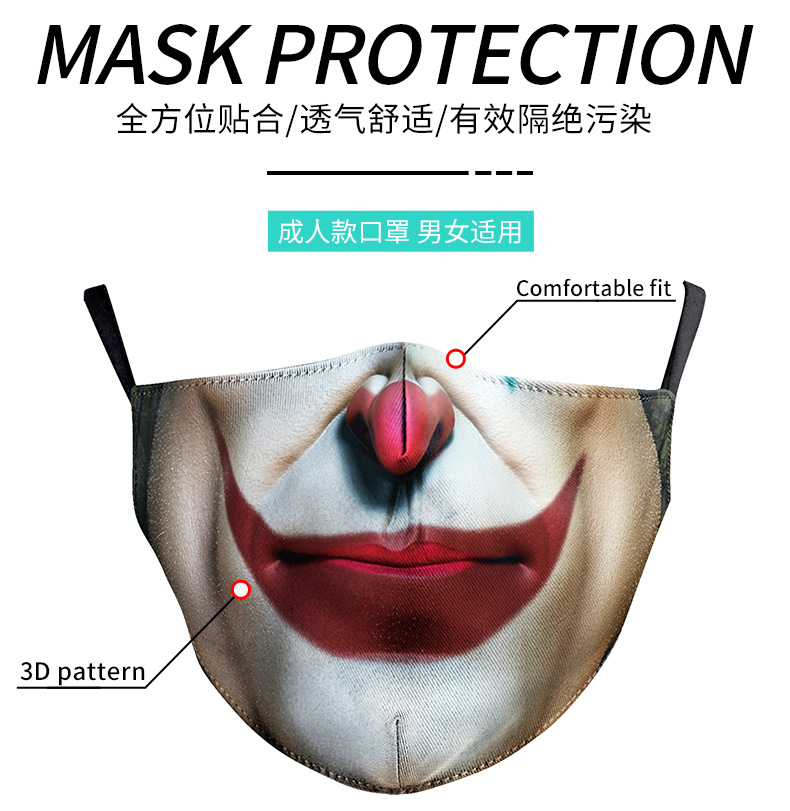 3D Printed Dust Washable Mask