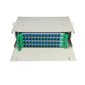 48 ODF Mount Rack Mount Rack dengan Adapter