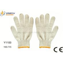 Перчатка безопасности 10g T / C (Y1100)