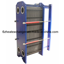 Intercambiador de calor de placas para refrigeración de aceite y agua (igual a M15B / M15M)