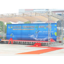 Shanghai supplier light weight outdoor stage design aluminum pipe truss