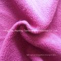 100% poliéster Knitting Tecido Polar Fleece 75D / 96f