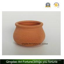 Наружный естественный подсвечник - Керамический глиняный горшок Форма выпуклости