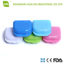dental use ortho retainer box with hole in high quality and cheapest prices