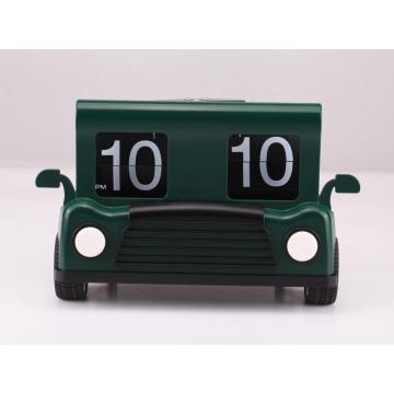 Funny Toy Car Mode Flip Clock
