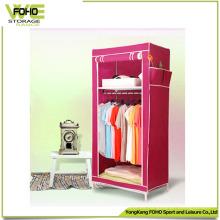 Cheap Easy Clean Cabinet plegable simple armario de dormitorio