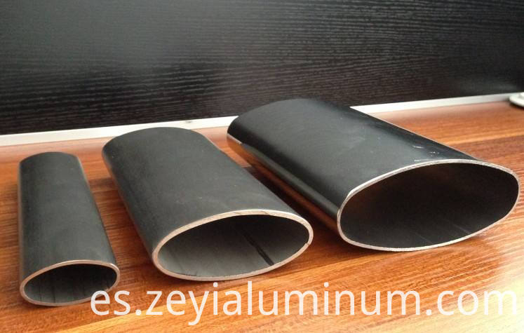 Aluminum Oval Tubes Of Various Sizes