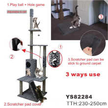 Árbol Scratcher de gato grande para gato, muebles de gato (YJ82284)