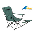 Folding Beach Chair With Foot Rest