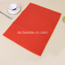 Solid Color Microfaser Tisch Matte mit Check