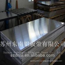 Ventas calientes personalizadas placa de nombre 5052 H32 hoja de aluminio