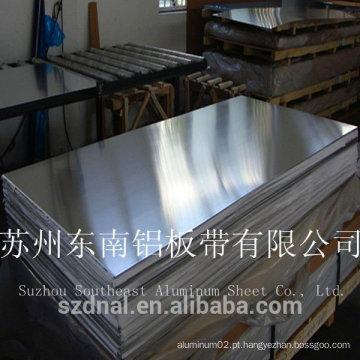 Hot sales placa de identificação personalizada 5052 folha de alumínio H32