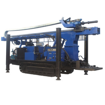 Гидравлическая буровая установка для бурения скважин на воду на гусеничном ходу 600 м