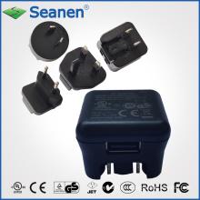 Adaptador / cargador de energía de conmutación intercambiable 5V 1A