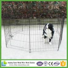 China Lieferant Draht Zaun Hund Falten Übung Yard Metarl Laufstall