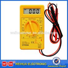 Multímetro digital DT830A con probador de batería de salida de onda cuadrada