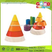 Hot Sale Wooden Sorting Toys,Educational Cone Sorting,Children Cone Toys