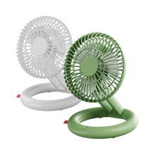 Qualitell Silent Storage Fan Wiederaufladbarer Mini-Lüfter