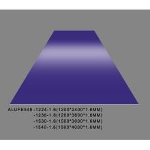 Placa de lámina de aluminio morado suave de alto brillo de 1,6 mm