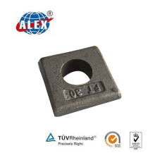 Plain Oiled Kpo Type Rail Clamp for Railway Fastening