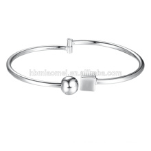 Fashion jewelry hot selling temperament charm Platinum plated Beads Bracelet
