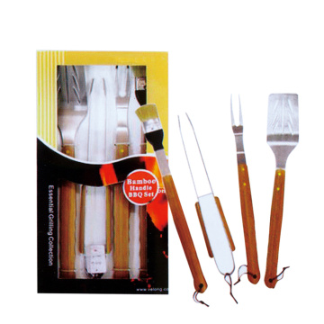 4pcs BBQ ensemble pour barbecue