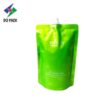 Chemical products customized packaging bag with spout